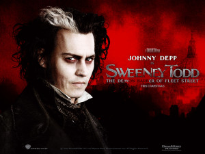 Tim Burton Sweeney Todd