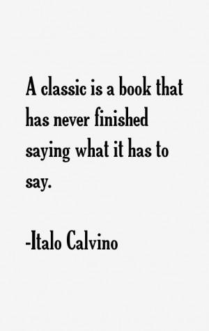 Italo Calvino Quotes & Sayings