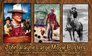 John Wayne Movie Poster Art