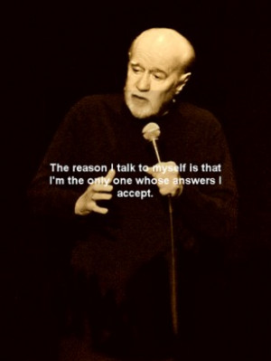 George Carlin quotes, is an app that brings together the most iconic ...