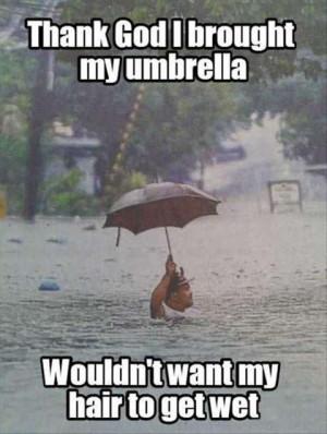 Funny Rain Pictures Funny-umbrella-flood-rain-