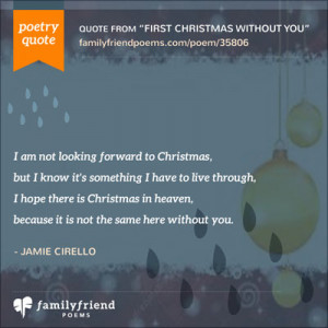 First Christmas Without You