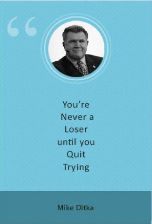 mike ditka quotes on success