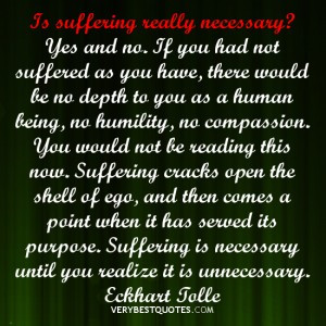 suffering quotes, Eckhart Tolle Quotes, ego quotes