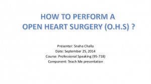 Open Heart Surgery Quotes