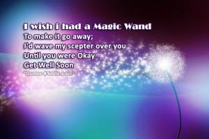 Wish I Had A Magic Wand