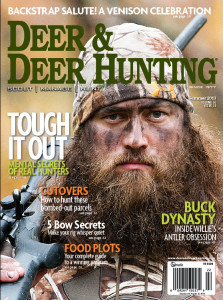 Willie on Deer & Deer Hunting Magazine Cover