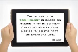 Bill gates on technology