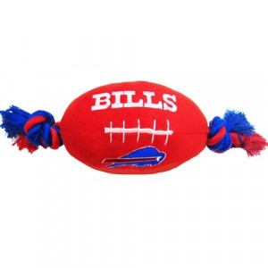 Buffalo Bills Plush Dog Toy by Doggie Nation