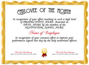 ... Certificate Templates, Employment Appreciation, Employee Appreciation