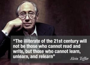 Continuous learning ... a fact of life.