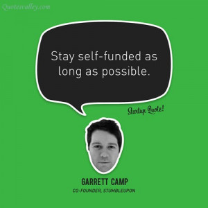 Stay Self Funded As Long As Possible