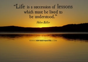 life quotes, living life quotes, helen Keller quotes