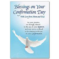 blessings on your confirmation day confirmation card $ 2 69