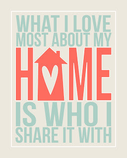 Home Free Print via eighteen25 blog