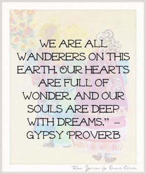 Gypsy Sayings