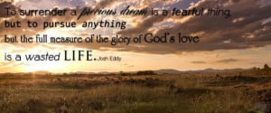 Surrendering Our Precious Dreams to God
