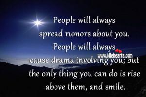 Rise Above Gossip Quotes. QuotesGram  Rise Above Goss...