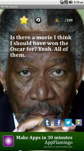 Morgan Freeman Quotes Screenshot 2