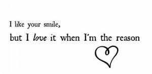 Go Back > Gallery For > I Love Your Smile Quotes