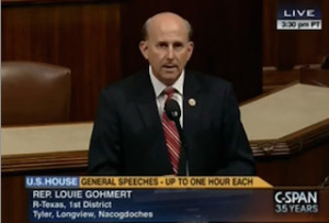 Rep. Louie Gohmert Quotes Sarah Palin and Tina Fey on House Floor ...