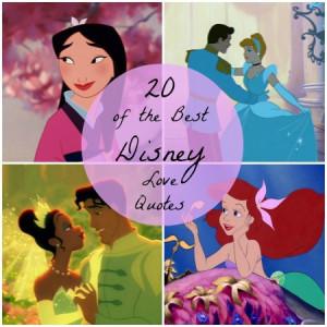 The Best Disney Love Quotes