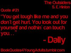 ya book quotes whatever dis book is gt gt it s the outsiders fool