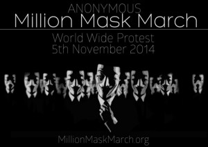 What is Million Mask March? Anonymous Holds Government-Bashing Rally ...