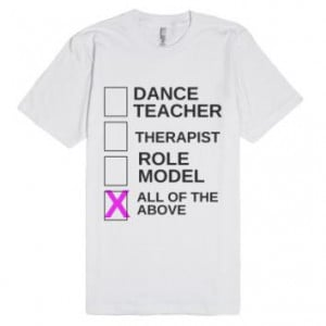 Dance Teacher Shirt-Unisex White T-Shirt More