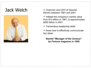 Quotes On Change Management By Jack Welch ~ 25 LESSONS from JACK WELCH ...