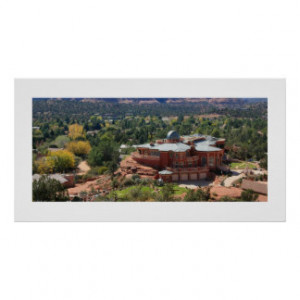Sedona Observatory Panorama Poster