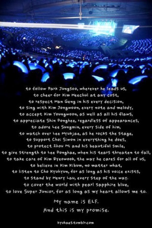 ... years for e l f and super super junior 6 years that everlasting
