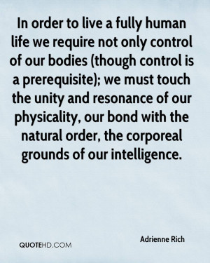 Adrienne Rich Life Quotes