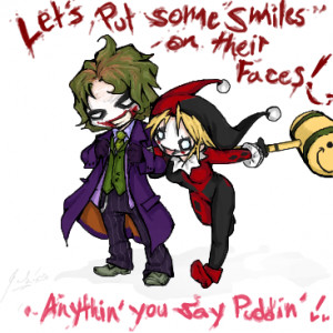 The Joker Will you join the Joker and Harley Quinn spot?