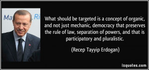 What should be targeted is a concept of organic, and not just mechanic ...
