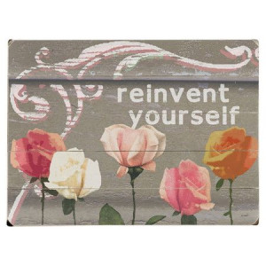 Reinvent Yourself Wall Art.