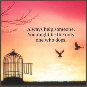 Helping others / quote