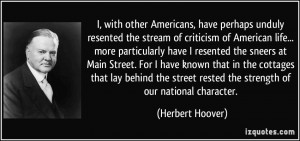 with other Americans, have perhaps unduly resented the stream of ...