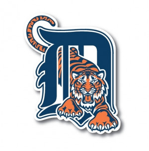 Detroit Tigers Vinyl Die-Cut Decal ** 4 Sizes **