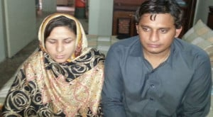 and his wife Majida Khanum are facing threats day in and day out after ...
