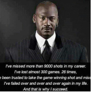 Quotes #MichaelJordan #23 #NBA #basketball #success #300
