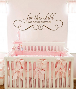 Nursery Wall Quotes | Baby Girl Quotes, Baby Boy Quotes