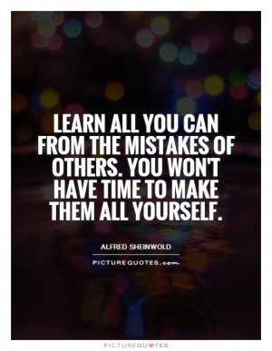 Mistake Quotes Learning Quotes Lessons Learned In Life Quotes Learning ...