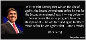 against the Second Amendment before he was for the Second Amendment ...