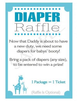 Baby Shower Raffles, Baby Shower Twin Boys, Baby Shower Diaper Raffle ...