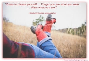 These ARE Beth's boots!! Aren't they fab?? Beth shares awesome quotes ...