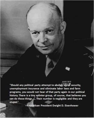 Did Eisenhower Predict The End Of The GOP?