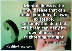 Mental Illnes quote:
