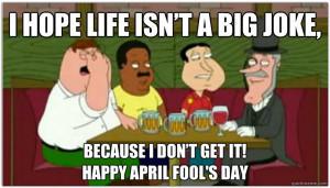 Hope Life Isn't A Big Joke