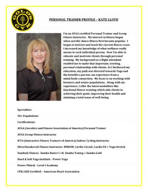 Personal Trainer Profile Template. trainer sample resume resume cv ...